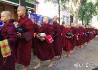 缅甸:佛教之国感受场面宏大的千人僧宴