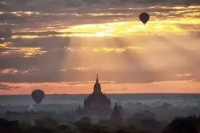 令人震撼的佛都古城缅甸蒲甘,鼎盛时期佛塔竟多达400多万座!如今被称为东方佛教艺术的宝库!