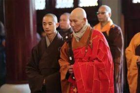 一代高僧世行老和尚安详示寂 世寿九十三岁