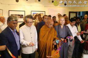 """""""中国佛教文化遗产图片展"""" 在印度举行"""