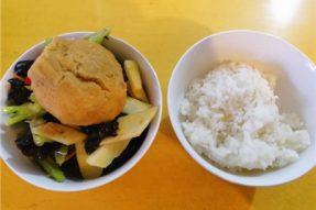 五台山的三时三餐:人间至味,一碗安乐茶饭
