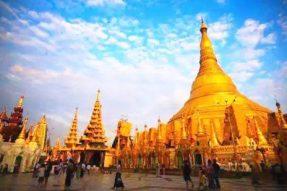 它是缅甸最神圣的佛塔,里面供奉了四位佛陀的遗物!也是世界上历史悠久、价值昂贵的佛塔!