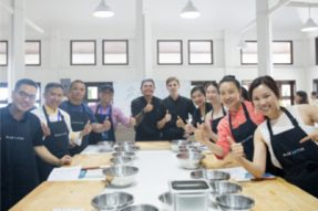 2018泰国素食节在华欣蓝莲花素食圣地举办