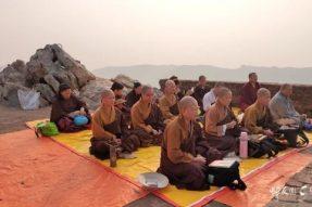 百千万亿劫难遇的《心经》在这里诞生 如今佛陀依旧在此说法 蝉友圈11月印度定制3团朝圣回顾(五)