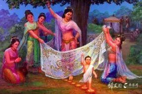 宫殿震动 地涌莲花 — 原来佛陀诞生时 中国也有瑞相