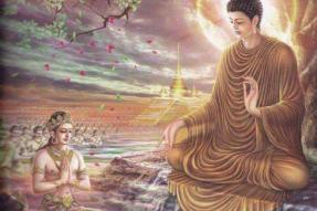 佛陀上忉利天为母说法!如何理解佛陀的大孝?