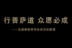 行菩萨道 众愿必成——全国佛教界同舟共济抗疫情(视频)