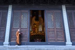 宁波阿育王古寺 恢复开放公告