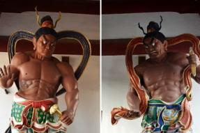佛教中的勇猛护法神——金刚力士(蝉友圈佛旅网)