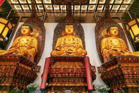 【佛教常识】:寺院大雄宝殿内供奉的是哪尊佛——蝉友圈佛旅网