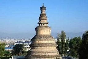 佛陀预言阿育王供养八万四千塔
